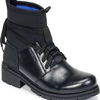 G-Star Raw Kotníkové boty DELINE SOCK BOOT Černá
