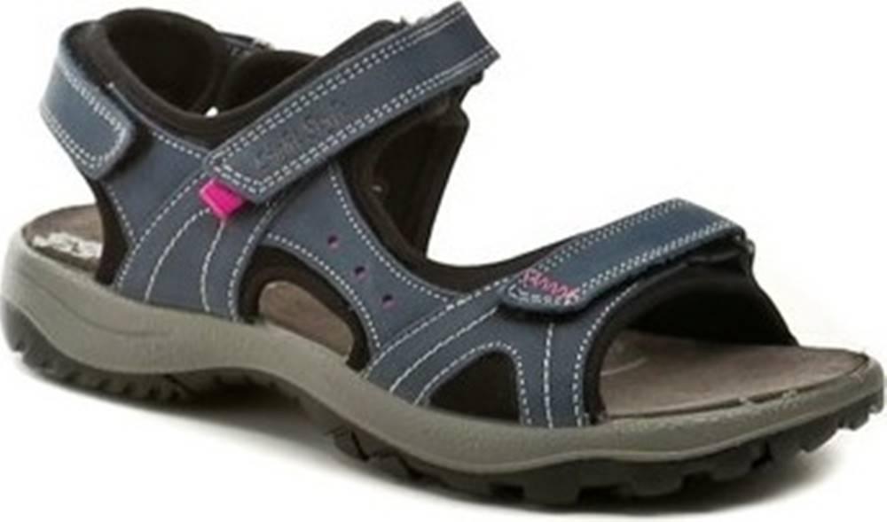 IMAC Imac Sandály I2317e71 modré dámské sandály Modrá