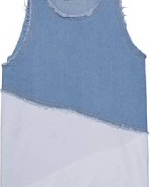 Modré tričko Andrea Crews