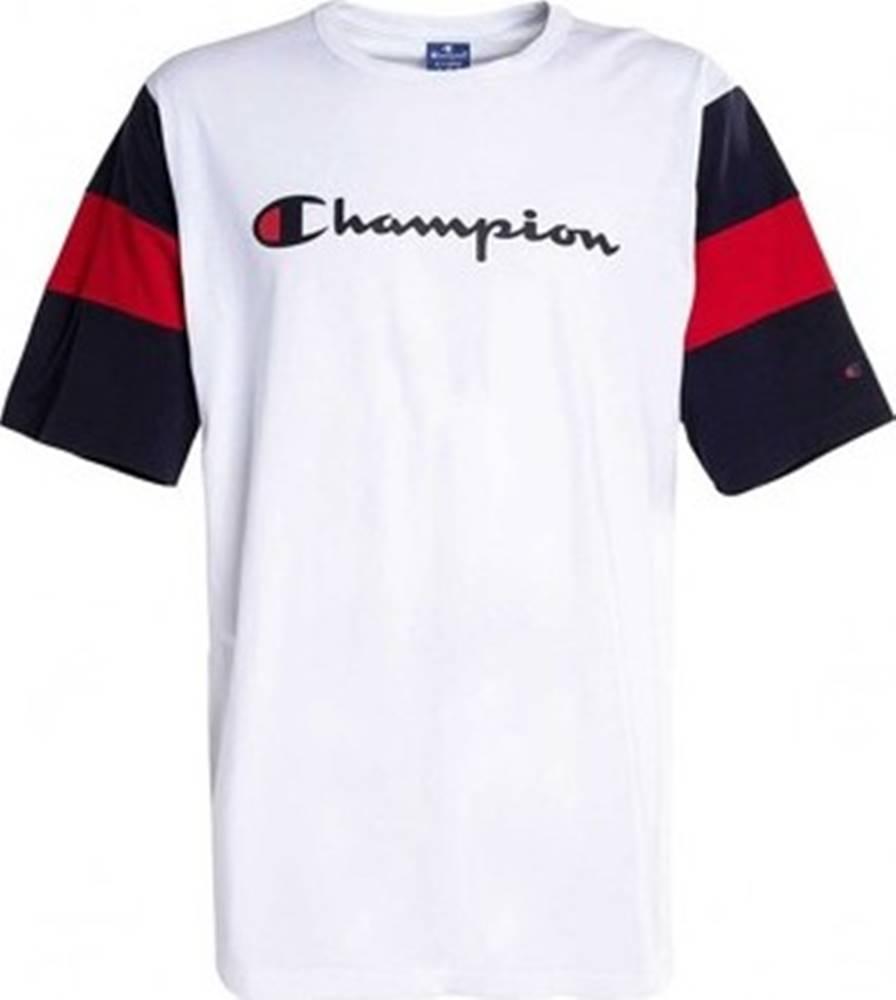 champion Champion Trička s krátkým rukávem - Bílá
