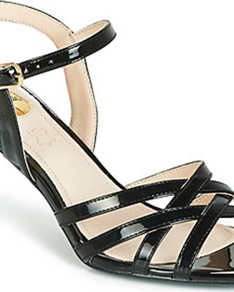 Černé sandály Buffalo