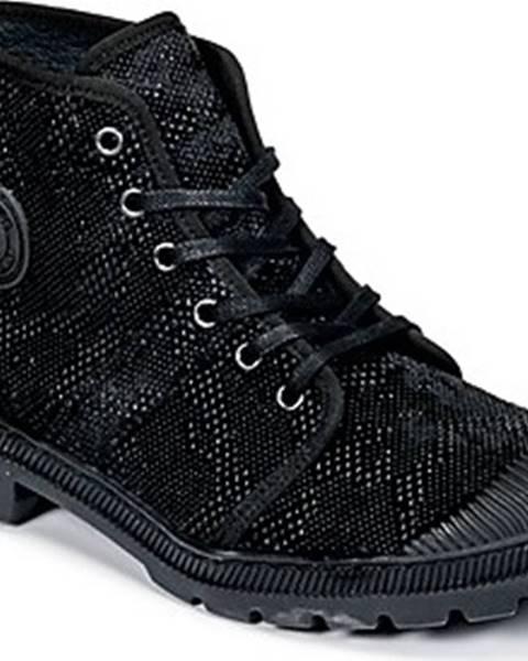 Černé boty Pataugas