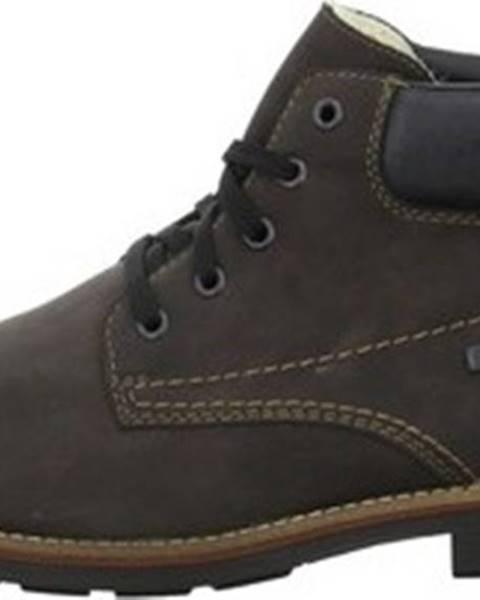Hnědé boty Rieker