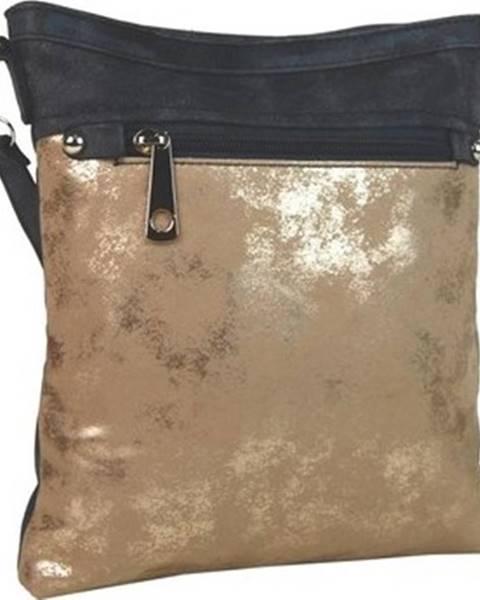 Zlatá kabelka Tapple