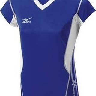 Mizuno Trička s krátkým rukávem Premium Cap Sleeve Modrá