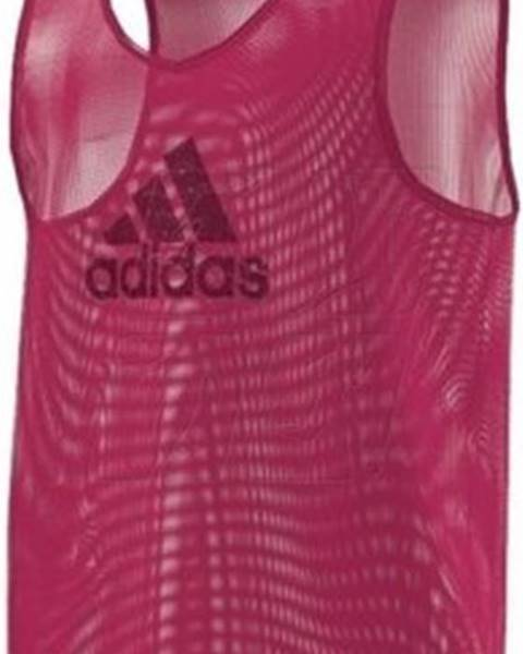 Fialové tričko adidas