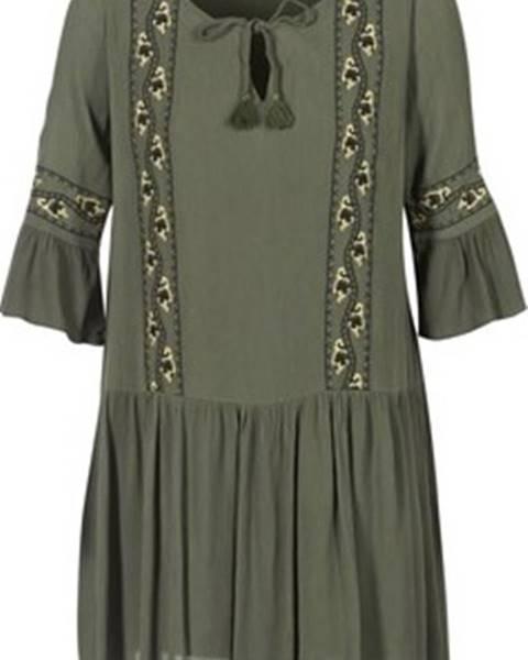 Khaki šaty Les Petites Bombes