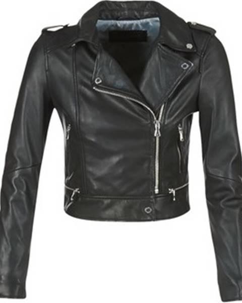 Černá bunda OAKWOOD
