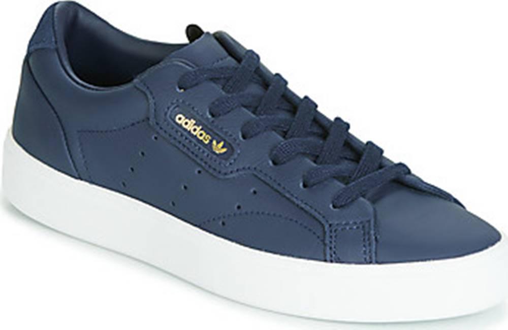 adidas adidas Tenisky adidas SLEEK W Modrá