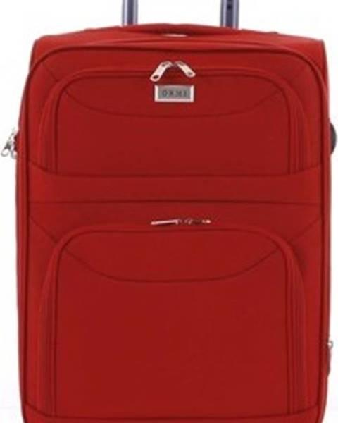 Červený kufr Ormi