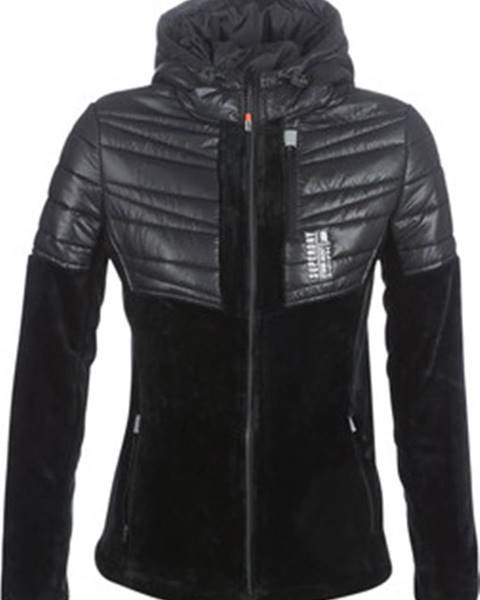 Černá bunda superdry