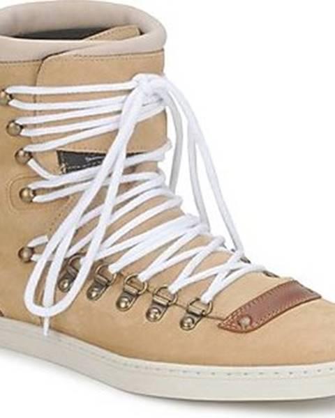 Béžové boty Swear