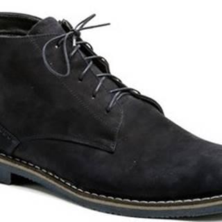 Abil Kotníkové boty Agda 707 modré pánské zimní boty Modrá