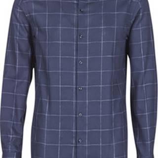 HUGO Košile s dlouhymi rukáv KENNO Modrá