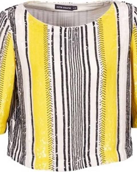 Žlutá halenka Antik Batik