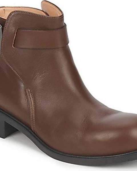 Hnědé boty Kallisté