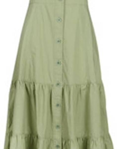 Khaki šaty Benetton