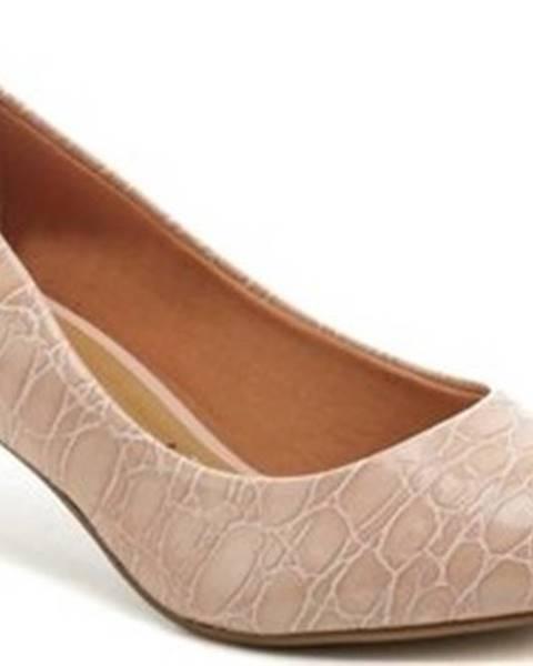 Růžové boty Vizzano