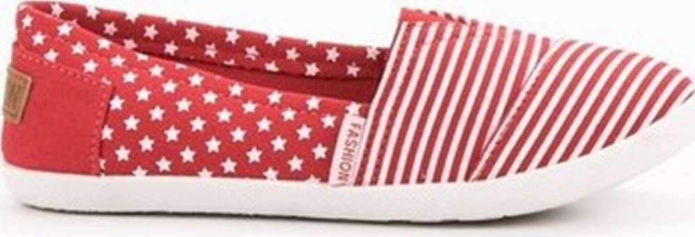 Pk Pk Street boty Luxusní červené tenisky dámské bez podpatku ruznobarevne