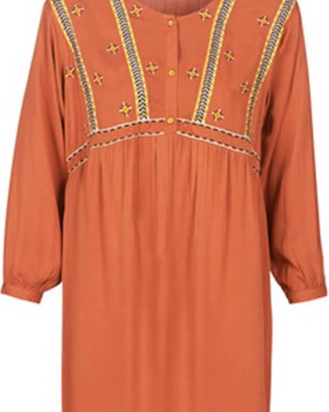 Oranžové šaty Betty London