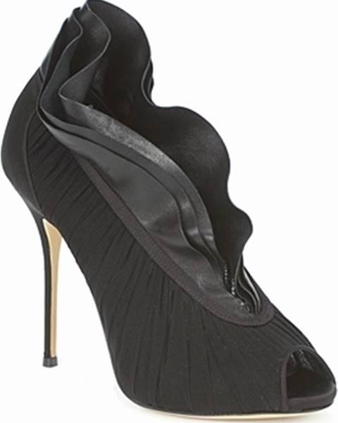 Černé boty Casadei