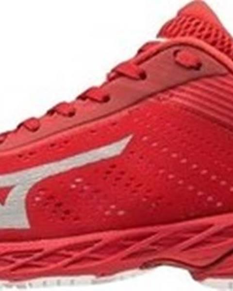 Červené boty Mizuno