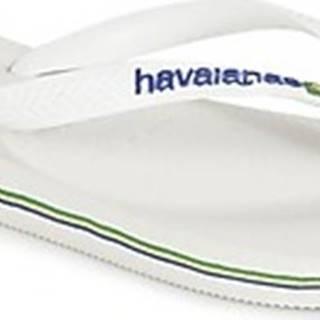 Havaianas Žabky BRASIL LOGO Bílá