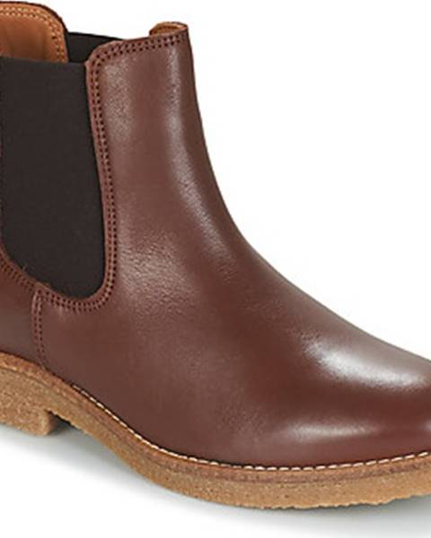 Hnědé boty André