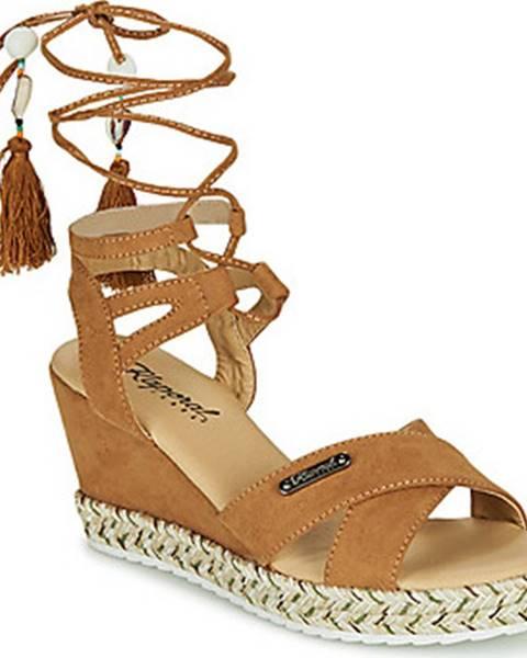 Hnědé sandály Kaporal
