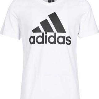 adidas Trička s krátkým rukávem MH BOS Tee Bílá