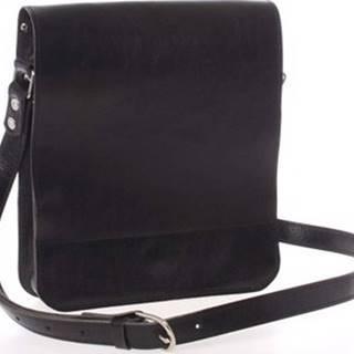 Kabea Kabelky přes rameno Černá luxusní kožená taška přes rameno Luxor-T Černá