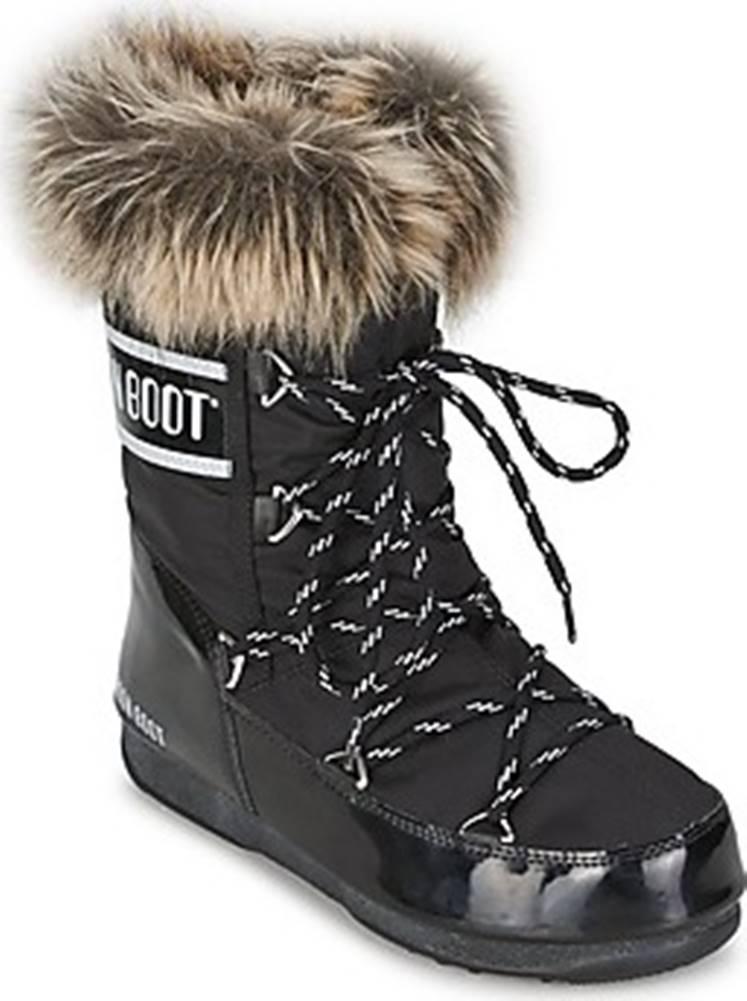 Moon Boot Moon Boot Zimní boty MOON BOOT MONACO LOW Černá