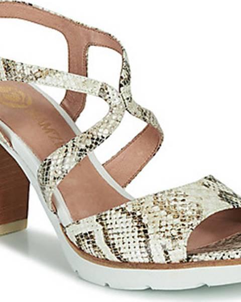 Bílé sandály Mam'Zelle