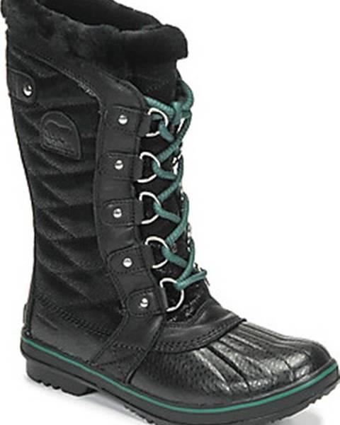 Černé boty sorel