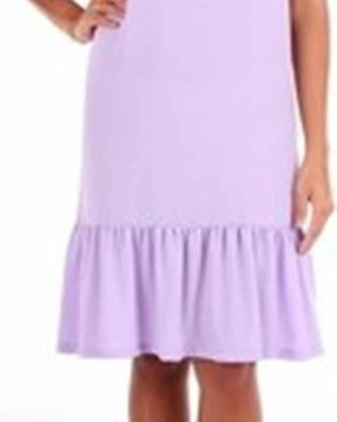 Fialové šaty Tela