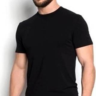 Esotiq Henderson Trička s krátkým rukávem Pánské tričko 34324 Grade black ruznobarevne
