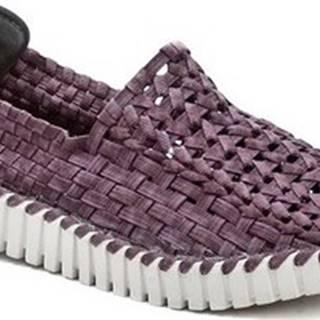 Rock Spring Street boty ANDANTE fialová dámská gumičková obuv Fialová