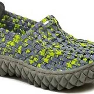 Rock Spring Street boty FULL Macha dámská gumičková obuv Zelená