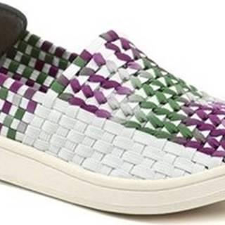 Rock Spring Street boty ROXANE White Waterman dámská gumičková obuv Other