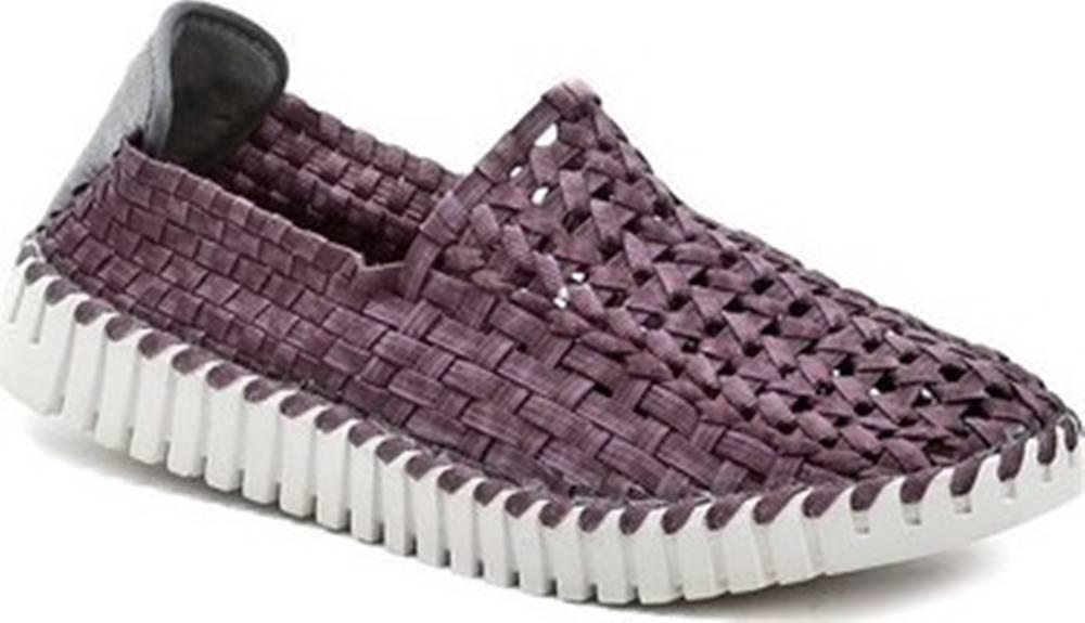 ROCK SPRING Rock Spring Street boty ANDANTE fialová dámská gumičková obuv Fialová