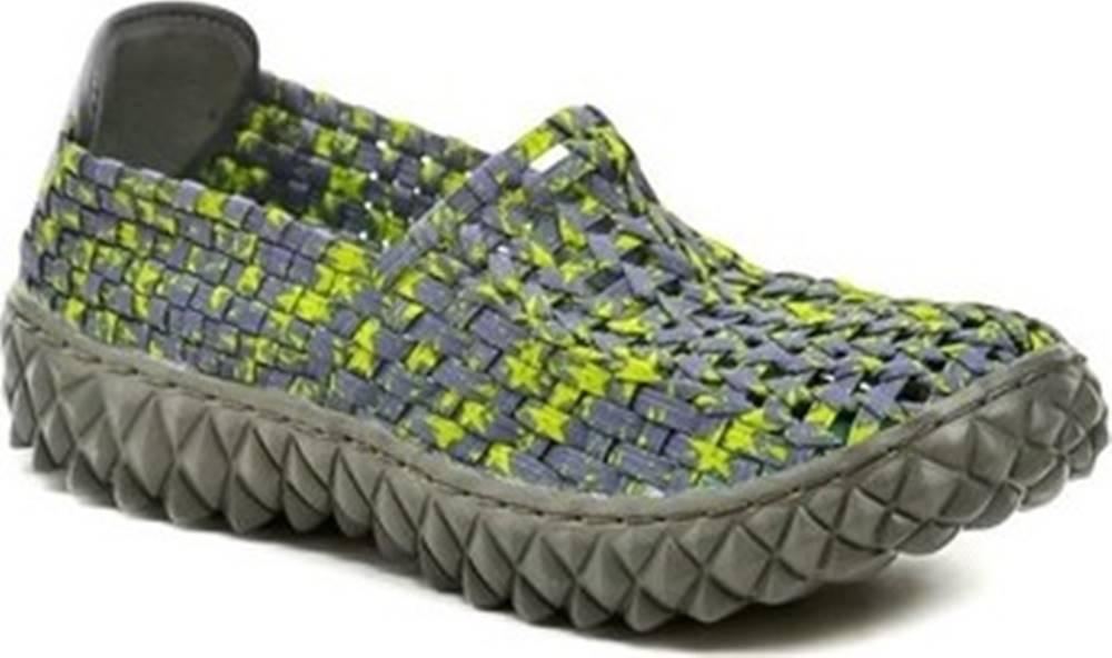 ROCK SPRING Rock Spring Street boty FULL Macha dámská gumičková obuv Zelená