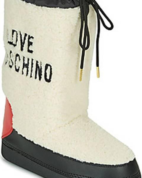 Boty Love Moschino