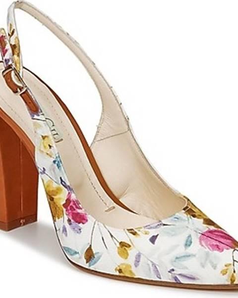 Bílé sandály Paco Gil