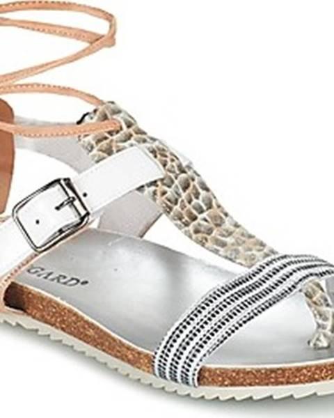 Béžové sandály Regard