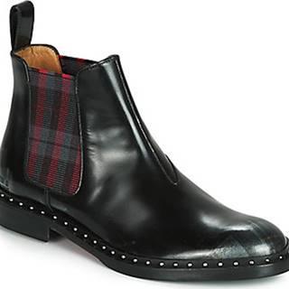 Melvin Hamilton Kotníkové boty SALLY Černá