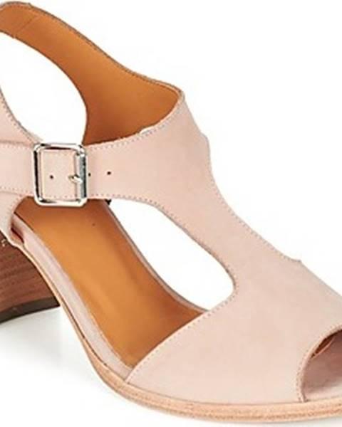 Růžové sandály Emma Go