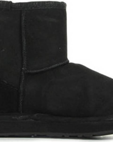 Černé boty Emu