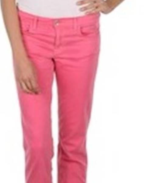 Růžové kalhoty gant