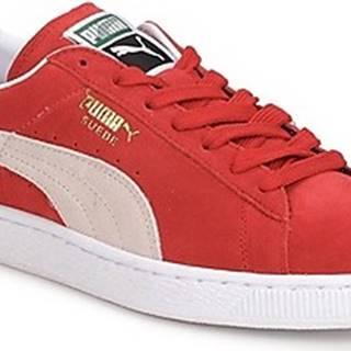 Puma Tenisky SUEDE CLASSIC + Červená