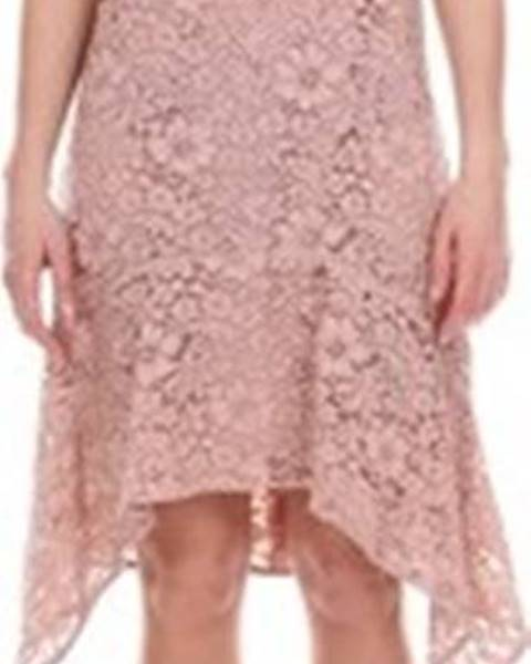 Růžové šaty Blugirl